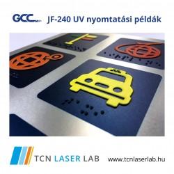 GCC JF240-UV Nyomtató és Formalakkozó