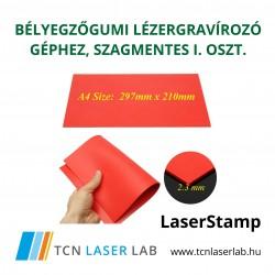 I. osztályú szagtalan bélyegzőgumi lézergravírozó géphez A4