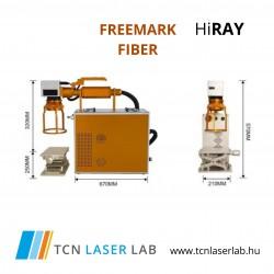 HiRAY FreeMark Fiber lézer jelölőgép