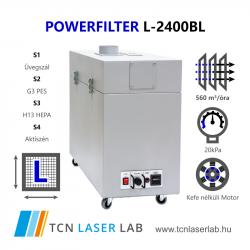 PowerFilter L-2400BL  + L1-L4 szűrők