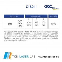 C180 II lézergravírozó és vágógép
