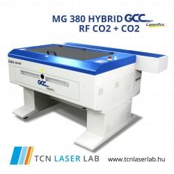 MG380 RF CO2 + CO2 Lézergravírozó és vágógép