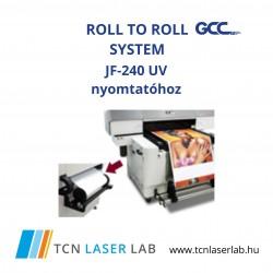 Roll to Roll system - JF240 UV nyomtatóhoz