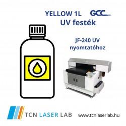 Yellow Ink bottle (1L) - JF-240 UV nyomtatóhoz