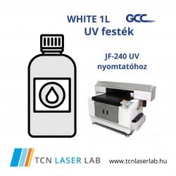 White F type Ink bottle (1L) - JF-240 UV nyomtatóhoz