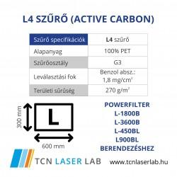 L4 szűrő (Active carbon)